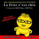 Onzième émissions La Frite C'est Chic reçoit Dj Olivier Abbeloos