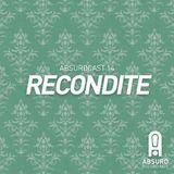 Recondite for Absurd Recordings, Jan. 2012