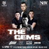 Live 016 - The Gems - New Nightclub - Saw, HS145, Zinxu,Dang Quoc