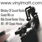 Vinyl Matt guest mix on Ministry Of Sound Radio with Billy Bunter