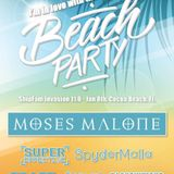 MOSES MALONE - HolyShip! Pre-Party Day 1 - 2018.01.08