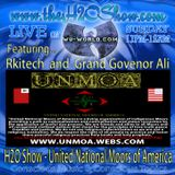 The H2O Show on Wu-World (Wu-Tang) Radio with Rkitech and Grand Governor Ali