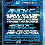 DJ Limited & MC Shay DD Live @ Rumble Vs Warning - May 4th 2014