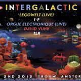 Legowelt -Live- (Strange Life Records) @ Intergalactic FM, Trouw - Amsterdam (02.06.2012)