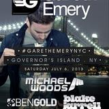 Michael Woods - Live @ Governors Beach Club Governors Island New York City (USA) 2013.07.06.