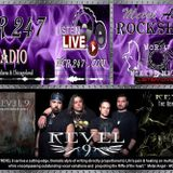REVEL 9 - with Guest DJ Pearlman on WCR247's Metal Angel Rockshow