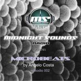 The MidNight Sounds Radio Pres Microbeats by Angelo Costa episodio 002