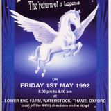 Grooverider Mythology:The Return of a Legend May 1st 1992