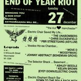 Kelvin Andrews live @ The Electric Chair 2006 ahead of the End of Year Riot next month