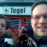 Radio Baldrian live vom Flughafen Tegel mit Norman und Jenz