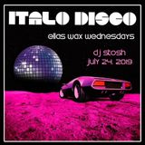 2019_0724 DJ Stosh Set (Italo-Disco, Electro, Synthpop, Dance)