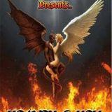 DJACQUES (GRAND HALLWEEN BALL)heaven and hell live hendra hall 2012