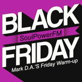 """Mark D.A.'s """"Friday Warm-Up""""-Mix No.70 for SoulPowerFM 29.11.2019"""