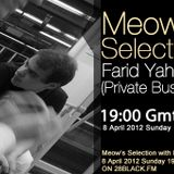 Farid Yahyaoui guestmix to 28Meow's Selection 08.04.2012.