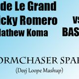 Fedde Le Grand & Nicky Romero ft Mathew Koma vs BASTO! - Stormchaser Sparks (Deej Loope Mashup)