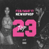 JVP's TOP 23 - FEB/MAR 2017 NEW HIPHOP RELEASES