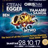 The Cosmic Universe - DJs Chris DvM - Stefan Egger - Yamanu & Samoa - Ben - Live @ Kantine Augsburg