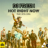 DJ Fresh and Rita Ora Interview & Acoustic version of Hot Right Now!