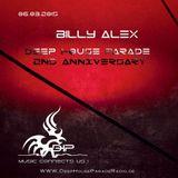 Billy Alex 2nd Anniversary@deephouseparaderadio#March