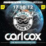 Carl Cox – Global 500 - Live at Gashouder Amsterdam (ADE) – 17.10.2012