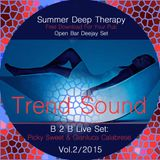 Summer Deep Therapy Vol.2/2015 - Picky Sweet & Gianluca Calabrese - b2b Live Set