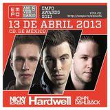 Hardwell - Live at EMPO Awards (Mexico City) - 13.04.2013
