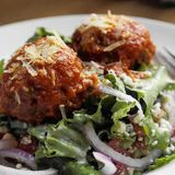 Balkan Balls with Swing Salad