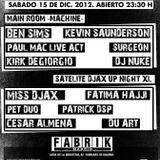 Patrick DSP - DJAX @ Fabrik Madrid 2012