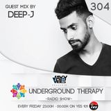 Underground Therapy with Jayy Vibes  [EP:304] - Guest Mix by DEEP-J