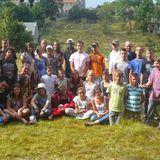 Les jeunes du camp itinérant d'Ardèche Dynamik