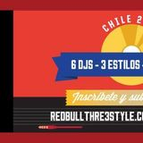 DJ FROST RED BULL THRE3STYLE CHILE 2015 SET INSCRIPCIÓN