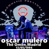 Oscar Mulero - Live @ Thë Omën,Madrid (13.05.1994) Cassette Sergio Cardoso