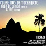 DISCO CLUBE do Brazil by ATN @ Disquaires 07-05-13