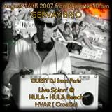 GERVAY BRIO Live Spinn' @ HULA HULA Beach - HVAR Croatia 2007