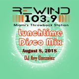Rewind 1039 Lunchtime Disco mix 08/08/2018