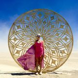 Masha Efy - Burning Man 2018 at Kurenivka Camp