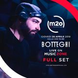 "Botteghi ON AIR Live @ ""MUSIC ZONE"" on m2o Radio on April 26, 2018!"