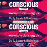 CONSCIOUS RADIO TEST MIX LIVE ON SEPT 7TH 530AM UK TIME ZONE