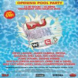 James Zabiela & Eric Prydz @ WMC DJ Mag Opening Party, The Shelborne, Miami - 24.03.2010