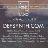 DEFSYNTH.COM's New Wave of Waveform Radio Show - 16th April 2018