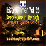Ibiza Summer Vol. 26 - Deephouse in the night