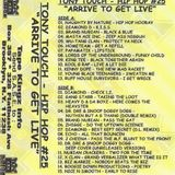 Tony Touch - Hip-Hop # 25 Side B - Arrive To Get Live - Tape Rip