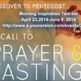 From Passover to Pentecost Day 1