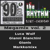 The 90s Radio pres. The Rhythm - Megamix 2  (L. Wolf - Gianni B. - Gionis - Markkomixx)