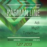 Mysti - Live at Fleeting Dream presents Beyond The Kàrmàn Line (Jan 2013)