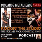Rockin the studio podcast for 26.02.2018 (Michael Schenker special)