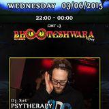 Psytherapy Dj Set broadcasted on Dragonfly radio 03 June 2015