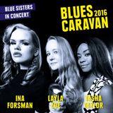 Blues Magazine Radio 43 |Album Tip: Blues Caravan 2016 - Blue Sisters In Concert