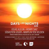 Eelke Kleijn - Live @ DAYS like NIGHTS ADE [October 21st 2017]