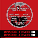 DANCING TIME spéciale JAMES BROWN FAMILY by Mat Black Voices LA RAPPORTEUZ RADIO